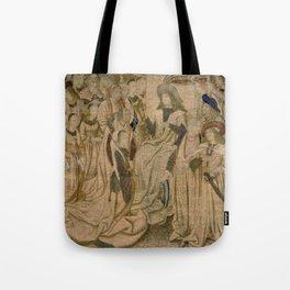 Ester presented to Ahasuerus Tote Bag