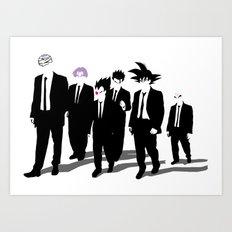 Reservoir Warriors Art Print