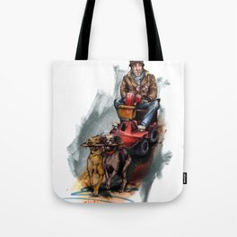 """""""Walking the dogs"""" Tote Bag"""