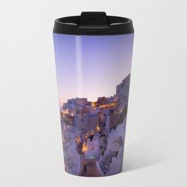 Santorini Sunset Travel Mug
