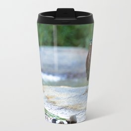 Little Green Heron Travel Mug