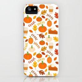 Everything Autumn iPhone Case