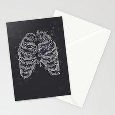 A swarm of bees living inside me Stationery Cards