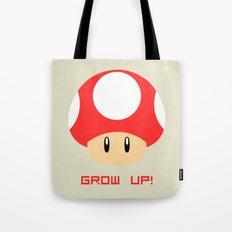 Grow Up! (Super Mario) Tote Bag