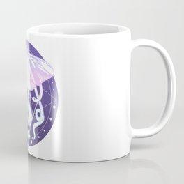 Luna Moth, Snakes, Third Eye, Stars And Witchy Aesthetic Pastel Goth Art Coffee Mug
