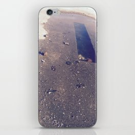 Dark Puddle iPhone Skin