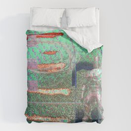 Potted Meat Man Goes Bonkers Comforters