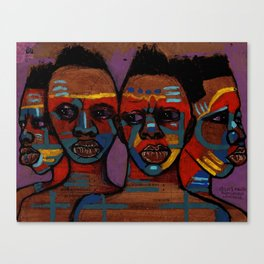 2018 As Unity We Migrate Life by Marcellous Lovelace Canvas Print