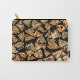 Camp Fire Wood Carry-All Pouch