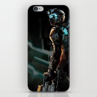 dead space iPhone & iPod Skins featuring Dead Space  by JAGraphic