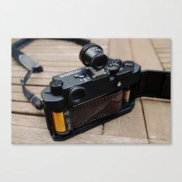 35mm Rangefinder Canvas Print