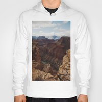 marble Hoodies featuring Marble Canyon by Kevin Russ
