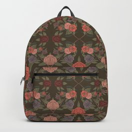 DIAMOND FLORAL Backpack
