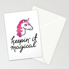 Keepin' It Magical Stationery Cards