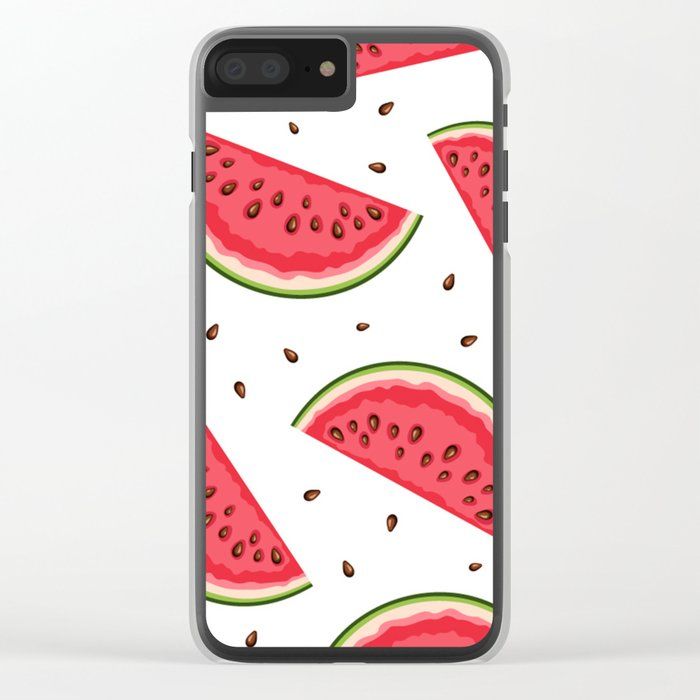 watermelon Clear iPhone Case