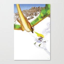 Dragon Attack Canvas Print