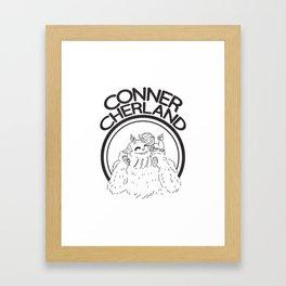 Conner Cherland Logo Framed Art Print