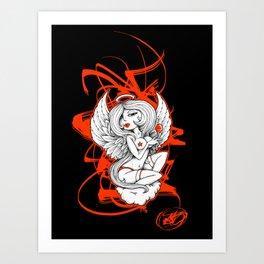 Angel Lust Art Print