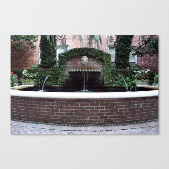 The Lion Fountain Canvas Print