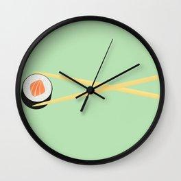 The Perfect Sushi I Wall Clock