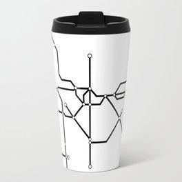 Metro São Paulo Travel Mug
