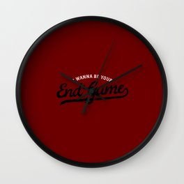 I wanna be Your EndGame Wall Clock