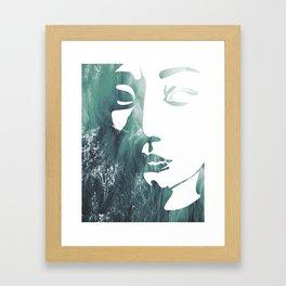 Mask 1/3 Framed Art Print