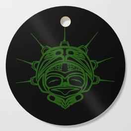 Grass Frog Ink Cutting Board