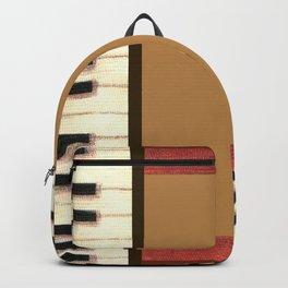 Piano Keys Frame Border 1 Backpack
