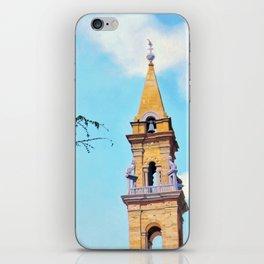 Piazza Santo Spirito iPhone Skin