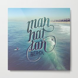 Manhattan Beach, LA Metal Print