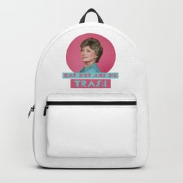 Eat Dirt and Die Trash - Blanch, The Golden Girls Backpack