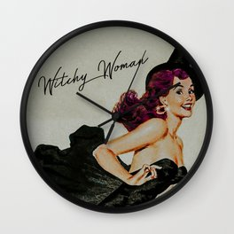 Witchy Woman III Wall Clock