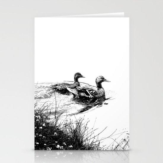 swim, swam Stationery Cards