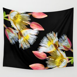 Bold and Wild Flowers Wall Tapestry