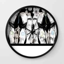 Seperation Wall Clock