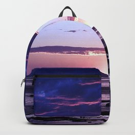 Coastal Sunset Sainte-Anne-Des-Monts Backpack