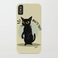 What's that? iPhone X Slim Case