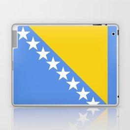 Flag of Bosnia and Herzegovina Laptop & iPad Skin