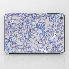 Squids of the inky ocean iPad Case