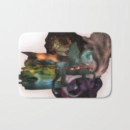 Cosmic Dust   Collage Bath Mat