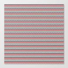 Zigged Chevron Canvas Print