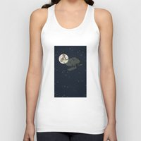 interstellar Tank Tops featuring Interstellar by Shany Atzmon