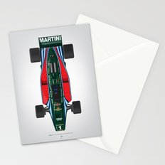 Outline Series N.º2, Mario Andretti, Lotus 80-Ford 1980 Stationery Cards