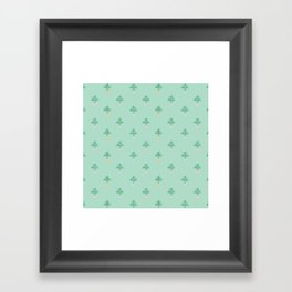 Swiss Cheese Plant Framed Art Print