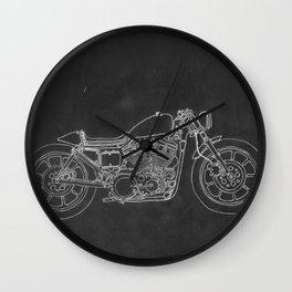 Thunder Bike Wall Clock