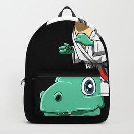 Funny Armbar T-Rex - Brazilian Jiu-Jitsu Backpack
