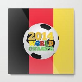 2014 World Champs Ball - Belgium Metal Print