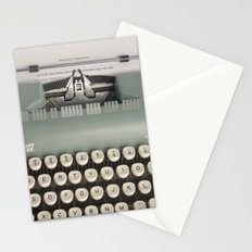 American Typewriter Stationery Cards