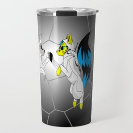 Wolves In Space Travel Mug